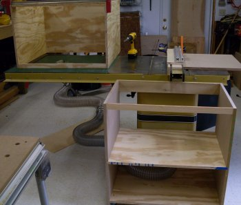 Project Downdraft And Outfeed Table