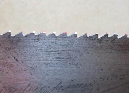 Saw Sharpening